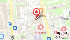 Мини-отель Санкт-Петербург на карте