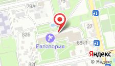 Туристско-оздоровительный комплекс Евпатория на карте