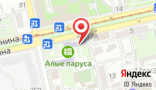 Отель Юнион на карте