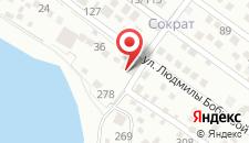 Отель Адриа на карте