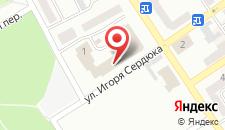 Отель Кремень на карте