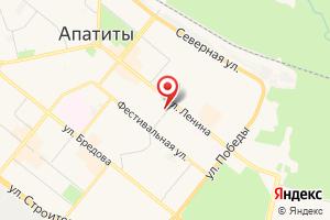 Адрес ТП № 21 на карте