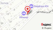Гостевой дом Инжир на карте