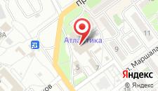 Отель Оптима Севастополь на карте