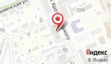 Отель Аккорд Делюкс на карте