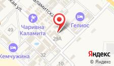 Мини-гостиница Аквамарин на карте