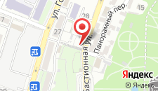 Гостиница Зюйд на карте