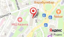 Арт-отель Украина на карте