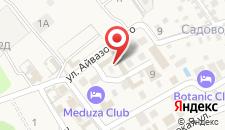 Гостиничный комплекс Цезарь на карте