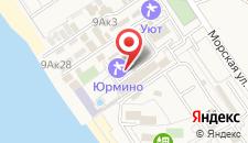Санаторий Юрмино на карте