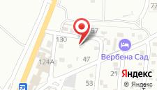 Гостевой дом Лаванда на карте