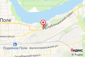 Адрес Газпром газораспределение Ленинградская область, филиал в г. Тихвине, Лодейнопольский район газоснабжения на карте