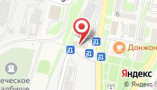 Гостиница Фордевинд на карте