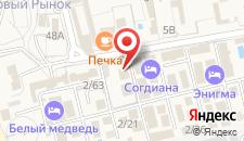 Гостиница Enigma на карте