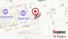Отель Сон на карте