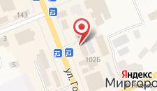 Отель Миргород на карте