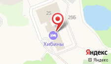 Гостиница Хибины на карте