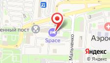 Гостиница Space на карте