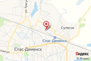 Адрес ГП Калугаоблводоканал Спас-Деменский участок на карте