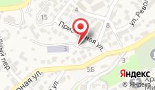 Отель Serbest на карте