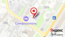Гостиничный комплекс Симферополь на карте