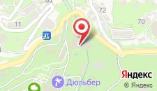 Отель Кичкинэ на карте