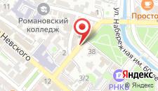 Гостиница Дом на Суворовском на карте
