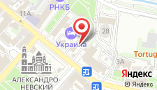 Гостиница Украина на карте
