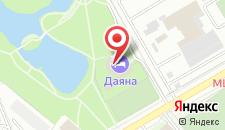 Гостиница Даяна на карте