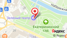 Бутик-Отель Зелёный театр на карте