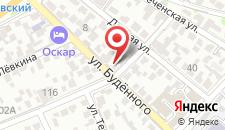 Гостиница ОСКАР на карте