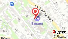Гостиничный комплекс Таврия на карте