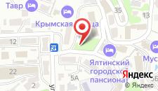 Гостиница Крымская Ницца на карте