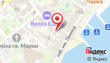 Апарт-отель Дворик на Морской на карте