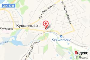 Адрес Газпром межрегионгаз Тверь, абонентская группа г. Кувшиново на карте