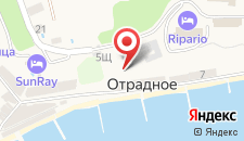 Отель Ripario Econom на карте