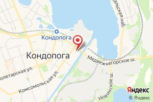 Адрес Кондопожский Районный Газовый Участок Петрозаводскгоргаз, Филиал-трест Карелгаз на карте