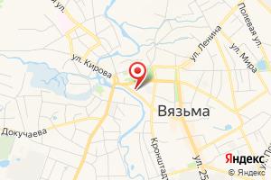 Адрес Газпром межрегионгаз, подразделение в г. Вязьма, Вяземский участок на карте