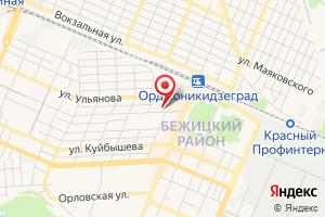 Адрес Бежицкий участок МОП Брянскводоканал на карте