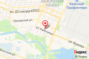 Адрес Газпром межрегионгаз Брянск, абонентский участок № 1 Бежицкого района на карте