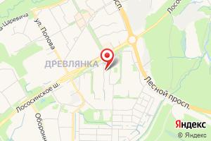 Адрес ТНС энерго на карте