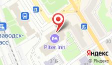 Отель Питер-Инн на карте