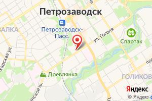Адрес Водоканал Петрозаводские Коммунальные Системы филиал на карте