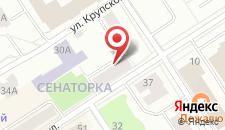 Гостиница Петрозаводск на карте