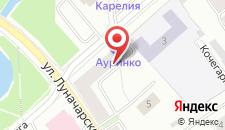 Гостиница Ауринко на карте