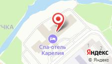 Гостиница Карелия на карте