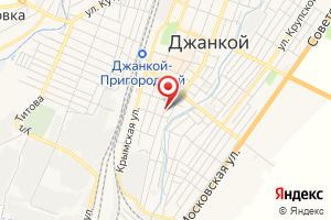 Адрес Джанкойское Уэгх Крымгазсети на карте