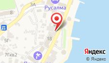 Отель Art House на карте