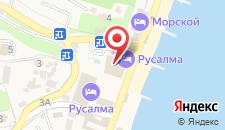 Отель Аквапарк на карте