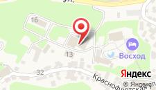 Туристско-оздоровительный комплекс Восход на карте